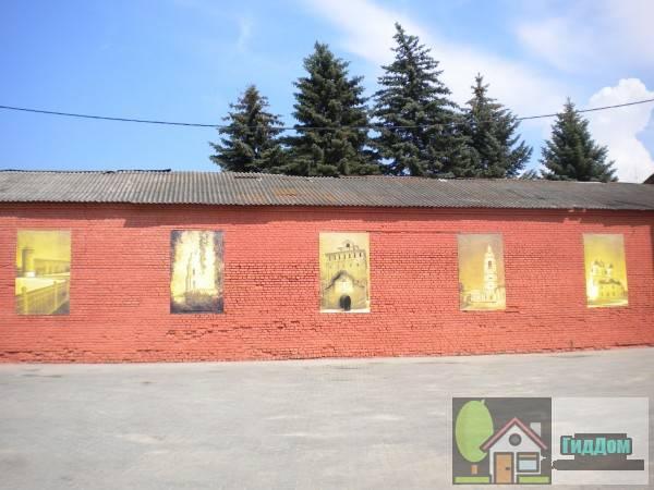 Стена во дворе дома №5 по улице Лажечникова