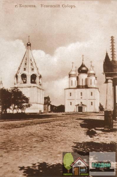 Соборная площадь на старой открытке