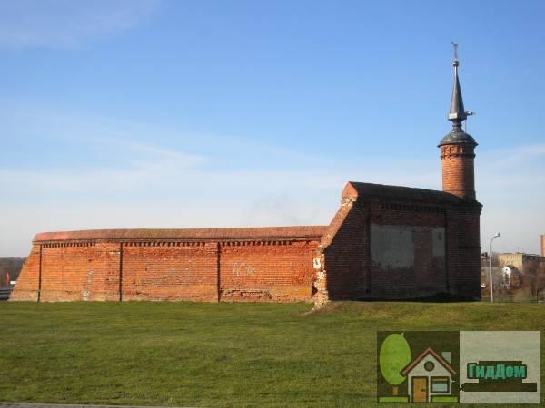 Ограда Брусенского монастыря