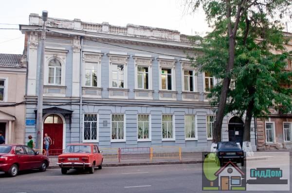 Здание женского еврейского профессионального училища (Будівля жіночого єврейського професійного училища)