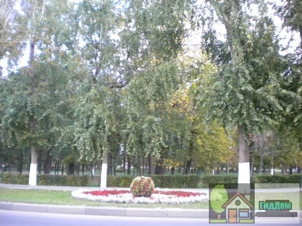 Запрудный сквер на улице Октябрьской Революции