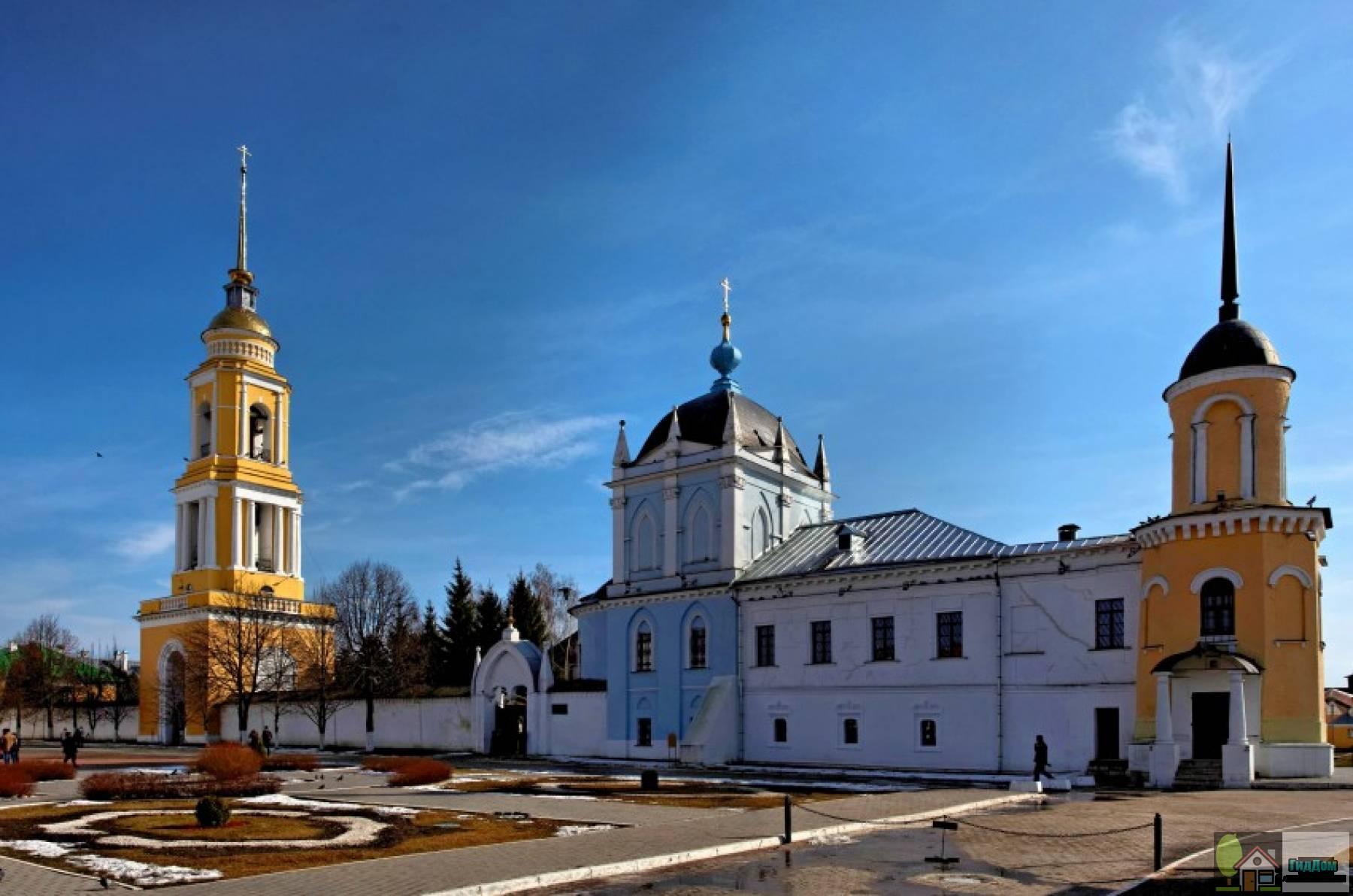 Троицкий Ново-Голутвин монастырь