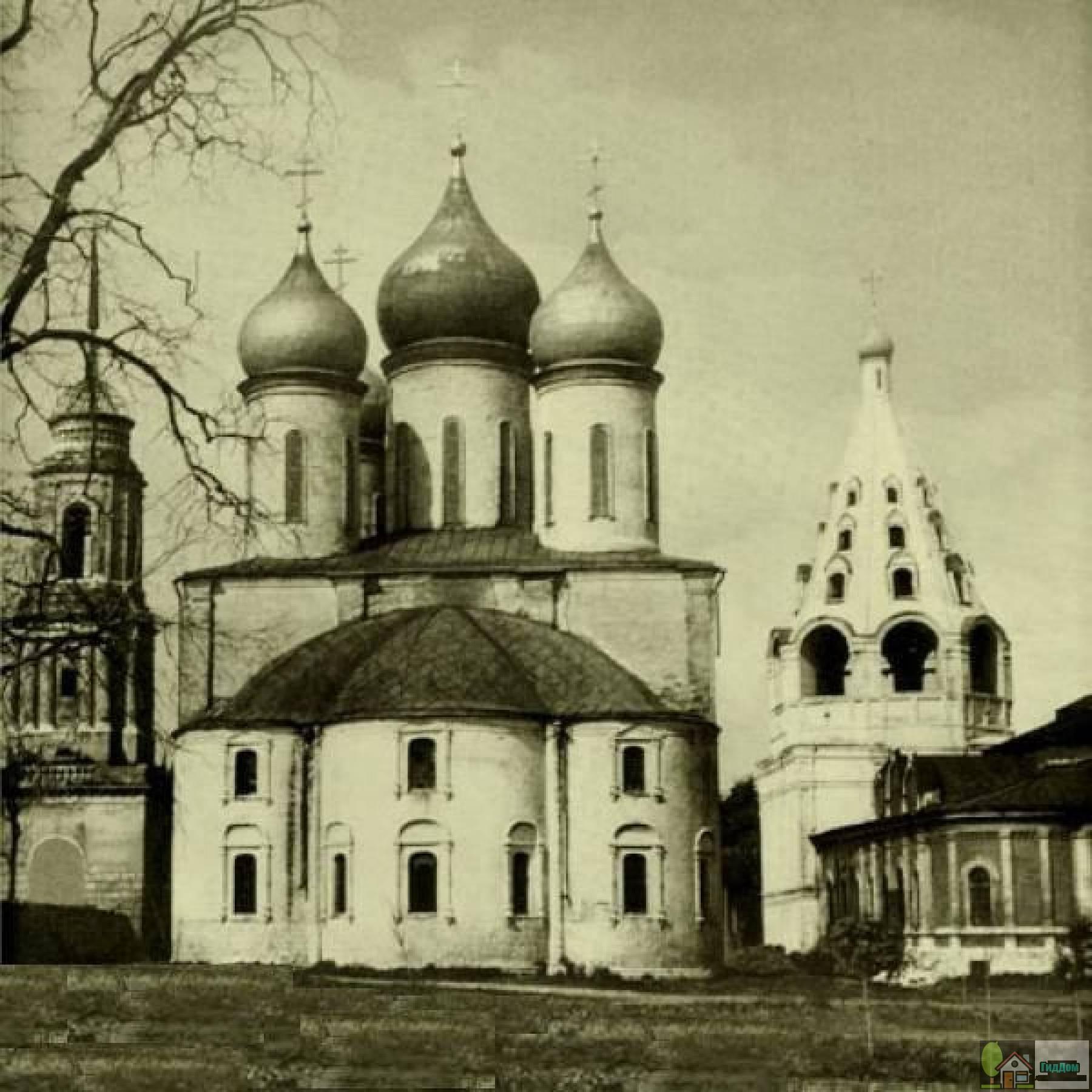 Успенский кафедральный собор в 1964 году