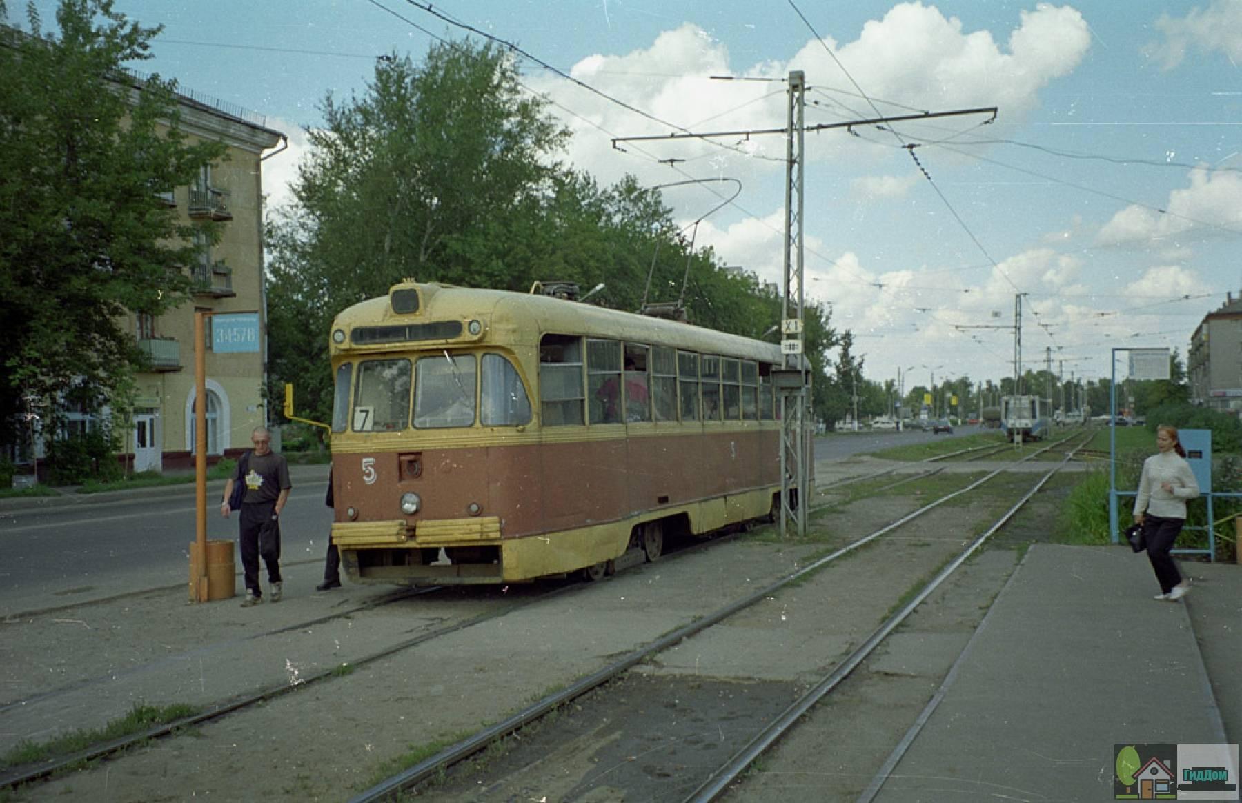 Трамвайная остановка «Трамвайное управление»
