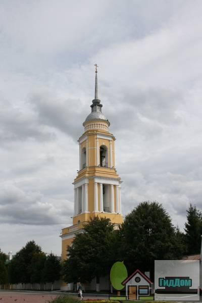 Ансамбль Троицкого Ново-Голутвина монастыря