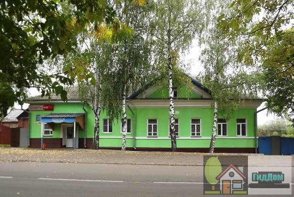 Дом Лаврентьева с магазином